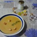 minestra con porri e patate