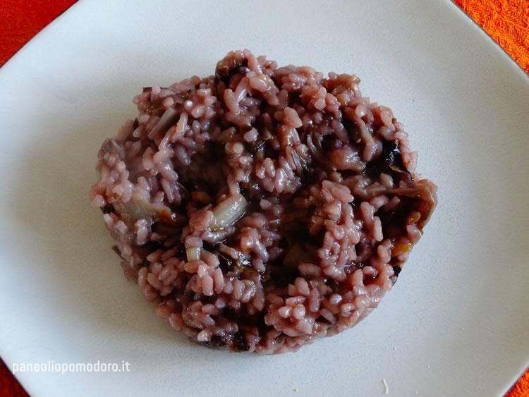 ricetta risotto con radicchio rosso di treviso