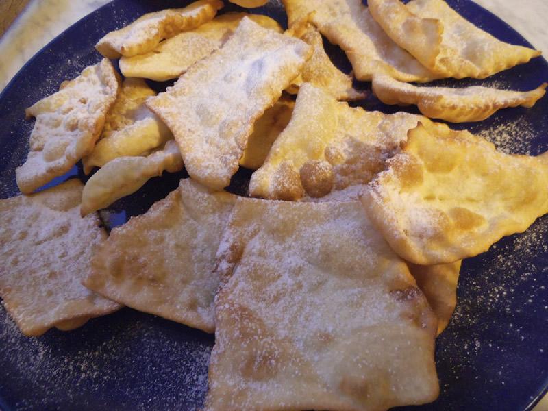ricetta crostoli di carnevale