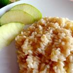 ricetta risotto alla mela verde