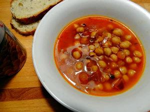 ricetta zuppa ceci al rosmarino