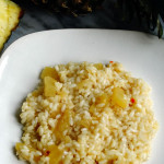 ricetta risotto ananas