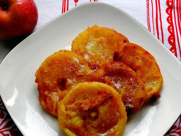 ricetta frittelle di mela
