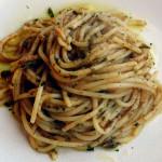 ricetta spaghetti con bottarga
