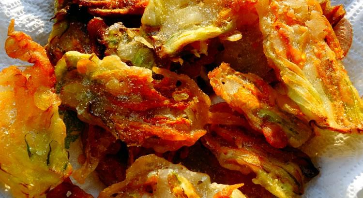 ricetta frittelle di fiori di zucchina