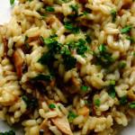 ricetta risotto con funghi porcini secchi