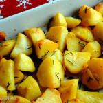 ricetta patate croccanti al forno
