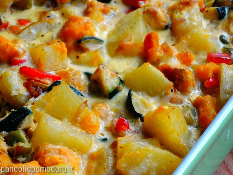 ricetta tortilla di verdure
