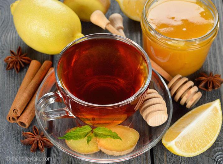 tisana zenzero miele e cannellla