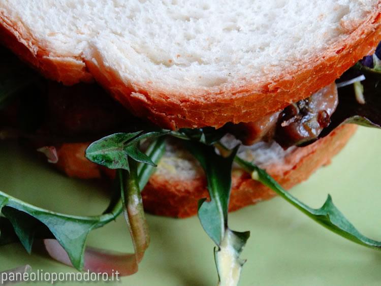 panino funghi e rucola