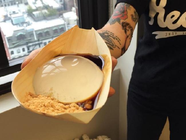 raindrop cake, dessert a goccia d'acqua