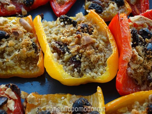 ricetta peperoni al forno cunzati
