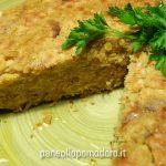 tortino di lenticchie rosse decorticate