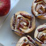 cestini di sfoglia di mele