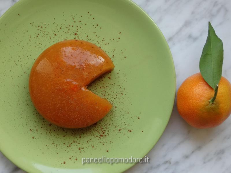 mousse di cachi e clementine