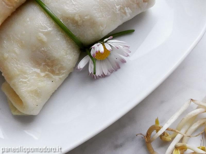involtini primavera con germogli di soia
