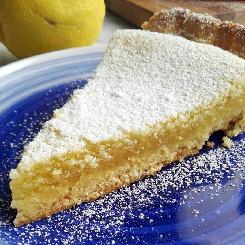 torta lemon curd