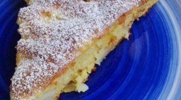 torta di mele e pere