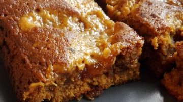 blondies al caramello salato