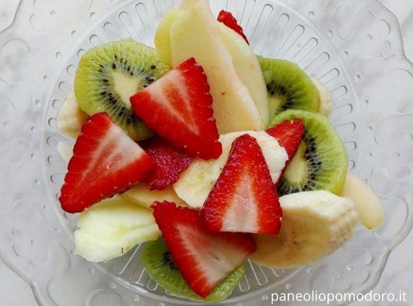 macedonia di frutta primavera
